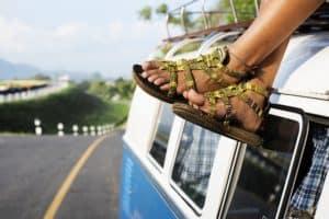 Hausmittel sorgen für schönere Füße im Sommer