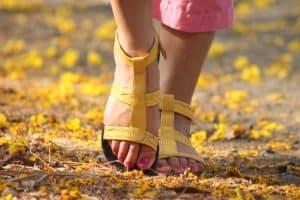 Mit Hausmitteln schönere Füße bekommen - kein Problem!