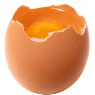 Eier helfen als Hausmittel gegen Spliss und zu trockene Haarspitzen