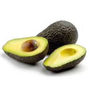 Hausmittel gegen trockene und spröde Haare: Avocado als Haarmaske.